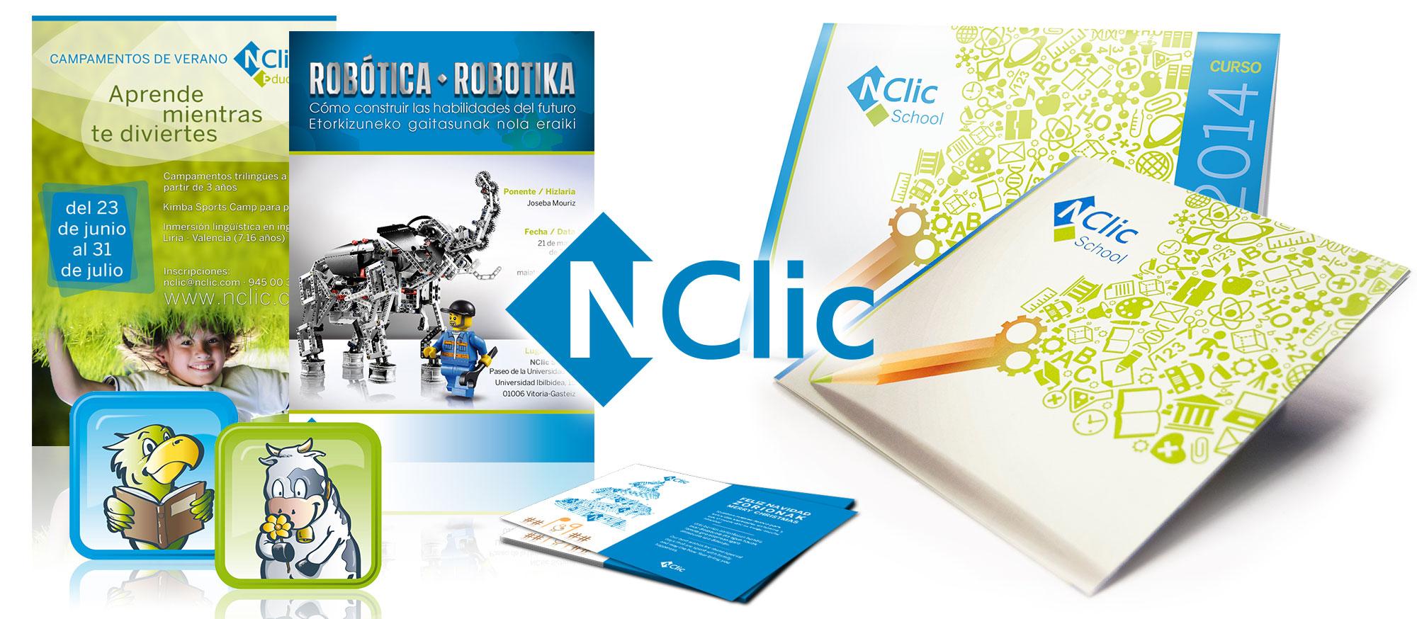 Escuela NClic - Material corporativo
